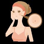 にきび跡の原因とニキビ跡を消す方法!凸凹肌を自分で治す為の対策化粧水はある?