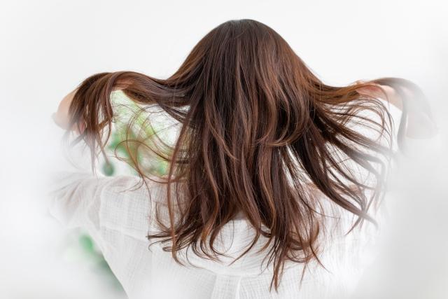 サラサラな髪
