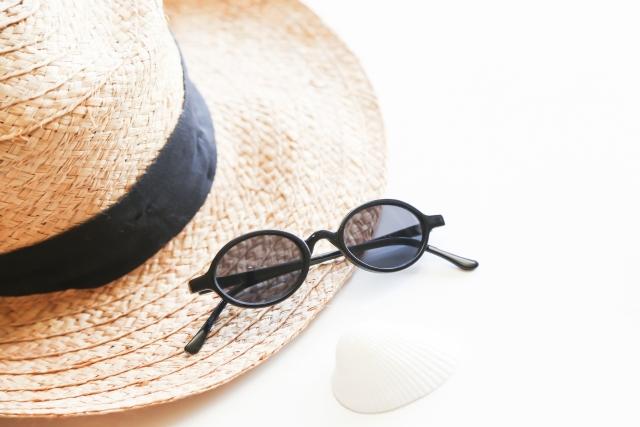 サングラス帽子