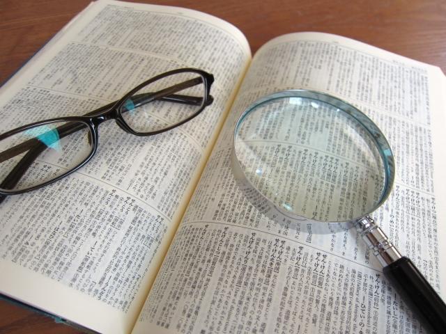 本虫眼鏡メガネ